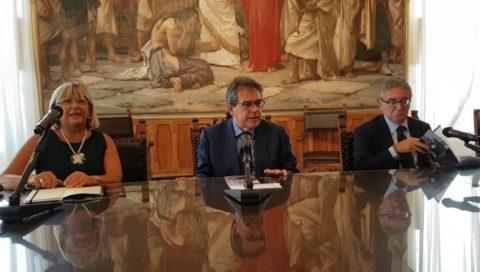Il sindaco Bianco presenta la mostra di Giuseppe Sciuti
