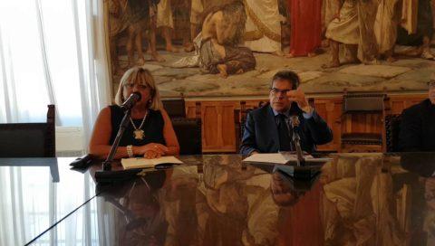 La soprintendente Maria Grazia Patané presenta la mostra di Giuseppe Sciuti