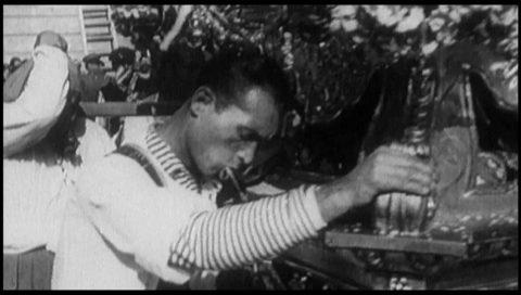 Sant'Agata nel video dell'Istituto Luce