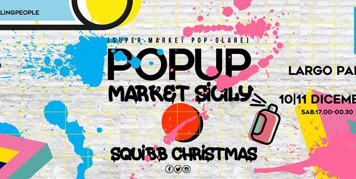 Pop Up Market Sicily nella terrazza di Largo Paisiello