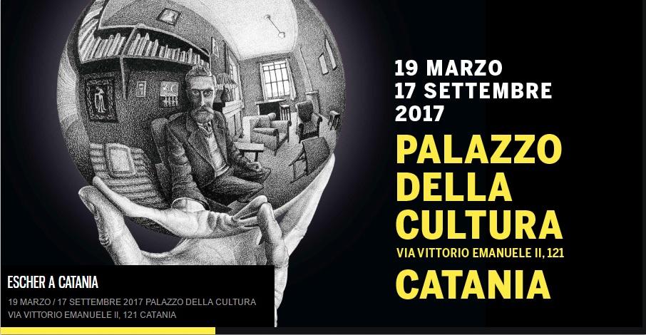 Palazzo della cultura dal 19 marzo la mostra di escher for Escher mostra catania