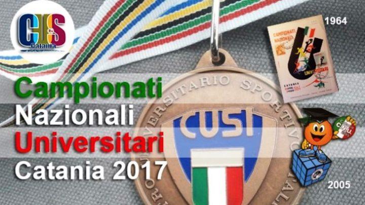 I Campionati Nazionali Universitari a Catania