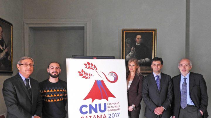 Campionati Universitari a Catania, presentato il logo