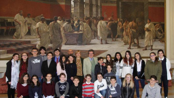 I ragazzi della Cavour incontrano il sindaco Bianco