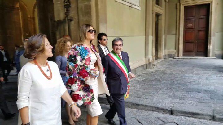 G7: conclusa la visita a Catania delle consorti e dei consorti dei leader
