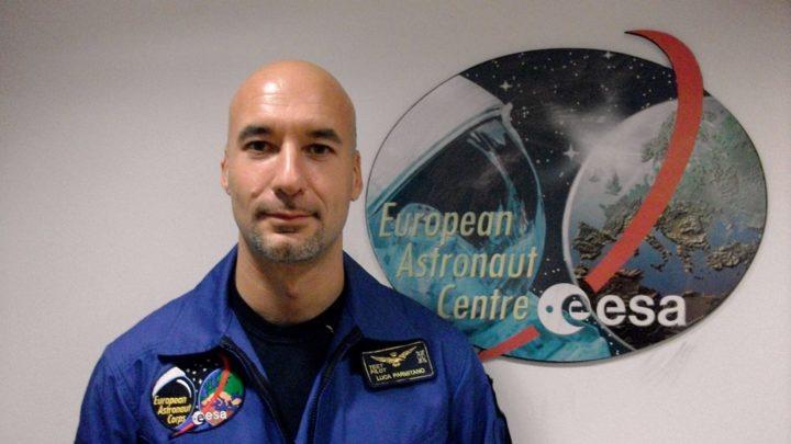 """""""Viaggio nello spazio"""" con Luca Parmitano"""