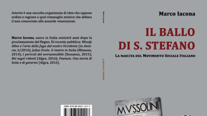 Un libro sulla nascita del Movimento Sociale Italiano