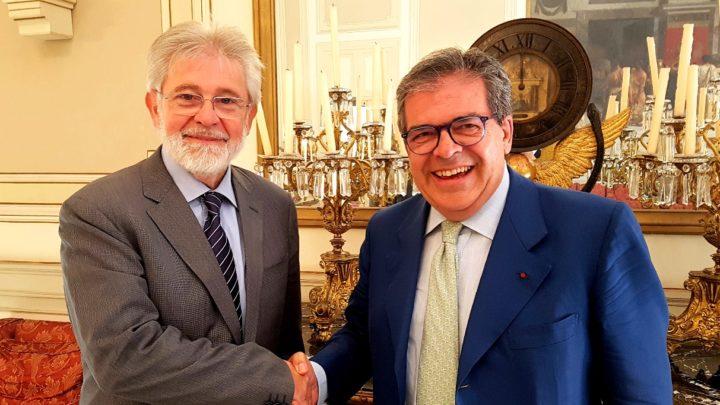 Economia: Bianco incontra Agen nel Palazzo degli elefanti