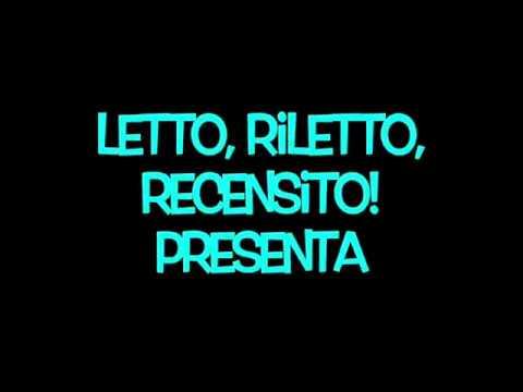 Letto, riletto, recensito presenta: Francesco Pistorino