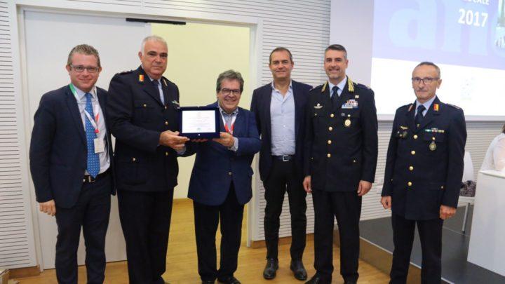 """Consegnato riconoscimento ai Vigili Urbani per operazione """"S. Agata Sicura 2016"""""""