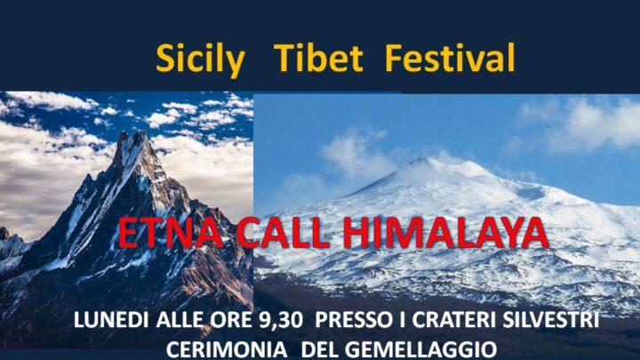 Sicily Tibet Festival, lunedì gemellaggio tra Etna e Himalaya