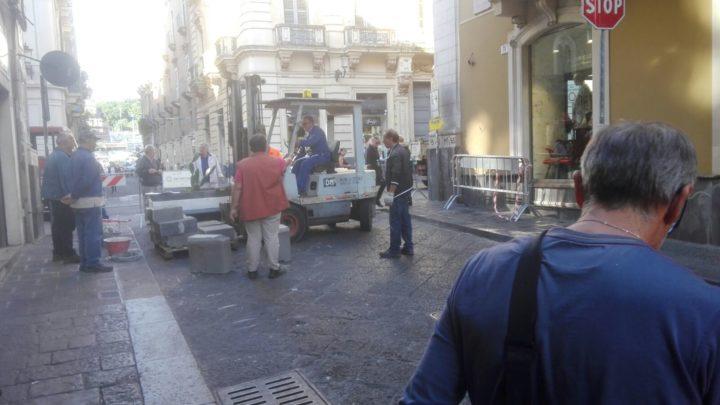 Interventi di manutenzione e restyling in via Pacini