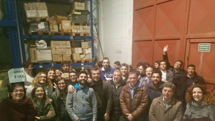 Colletta alimentare, la Sicilia ha raccolto 429 tonnellate di alimenti