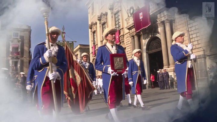 Il video della Festa di Sant'Agata 2018