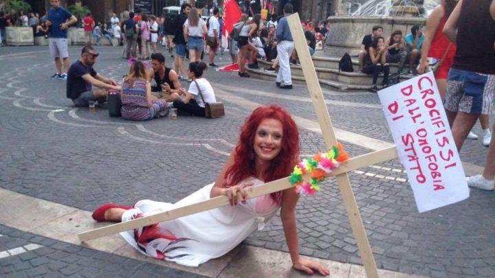 Omofobia a Catania, intervista a Agnese Vittoria