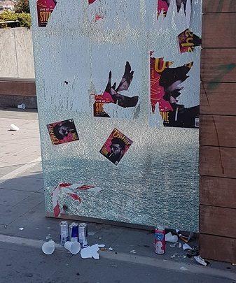 La Polizia di Stato contro il vandalismo dei minorenni