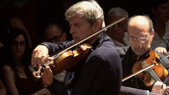 Concerto con Uto Ughi al Teatro Massimo Bellini