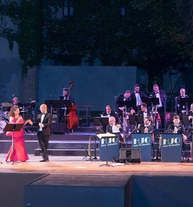 """La HJO Jazz Orchestra al Teatro Antico con """"Classic… in Swing"""""""