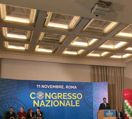 Roma. Congresso Nazionale Forza Italia Giovani, il catanese Dario Moscato nominato membro dell'ufficio di presidenza nazionale.