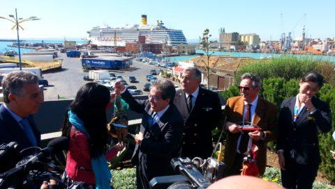 """Con Costa Atlantica Catania """"invasa"""" da turisti cinesi"""