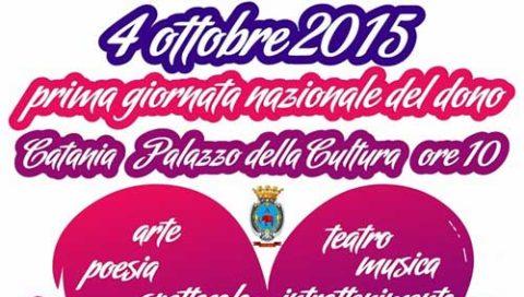 Il giorno del dono anche a Catania