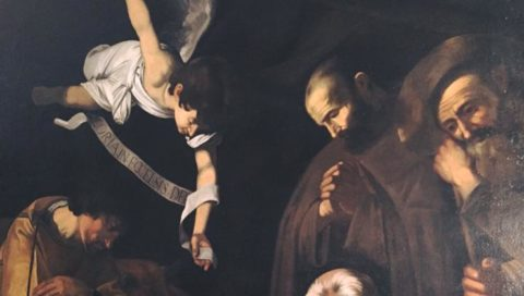 Ecco la Natività del Geraci copia coeva di Caravaggio