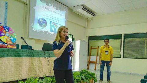 La dietologa di Sigonella incontra gli studenti dell'Alberghiero