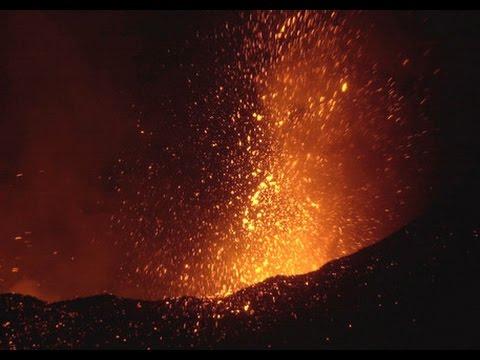 Ultime notizie sull'eruzione dell'Etna
