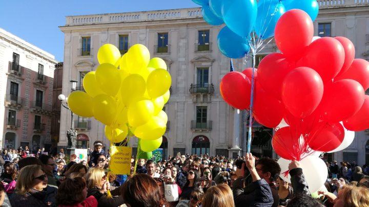 Giornata diritti dell'infanzia: 1500 bambini in piazza Università