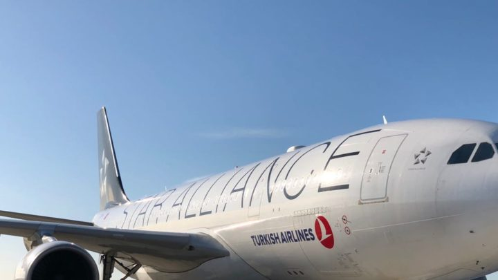 Fontanarossa, atterrato A330 Turkish Airlines con 289 passeggeri