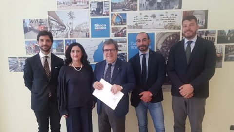 Il sindaco Enzo Bianco ha presentato gli assessori designati della nuova giunta