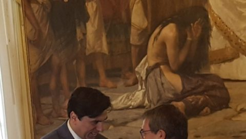 Comune: Pogliese riceve le consegne da Bianco