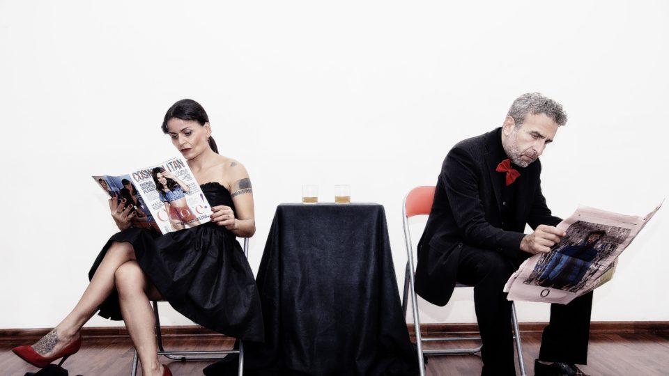 """""""Shots"""" lo spettacolo di e con Francesco Bernava e Alice Sgroi"""