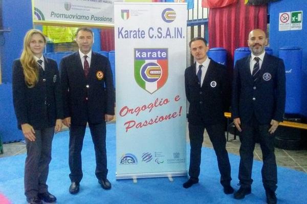 Karate, Csain-Fijlkam: corso di aggiornamento per gli ufficiali di gara