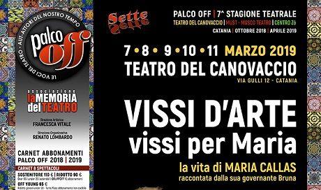 """""""VISSI D'ARTE, VISSI PER MARIA"""" La vita di Maria Callas raccontata dalla sua governante Bruna"""