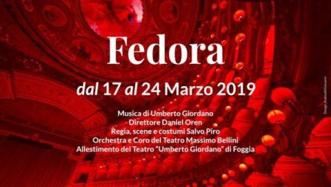 """Fedora"" di Umberto Giordano al Teatro Massimo Bellini"