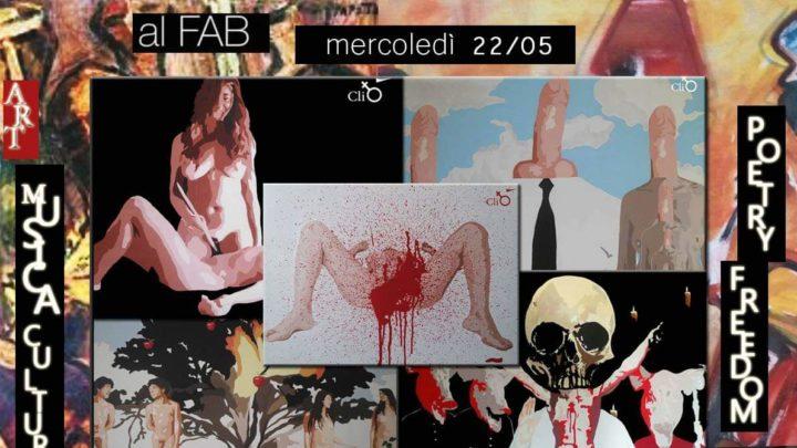 Evento, d'arte a Catania: domani 22 Maggio siamo tutti invitati al Fab.