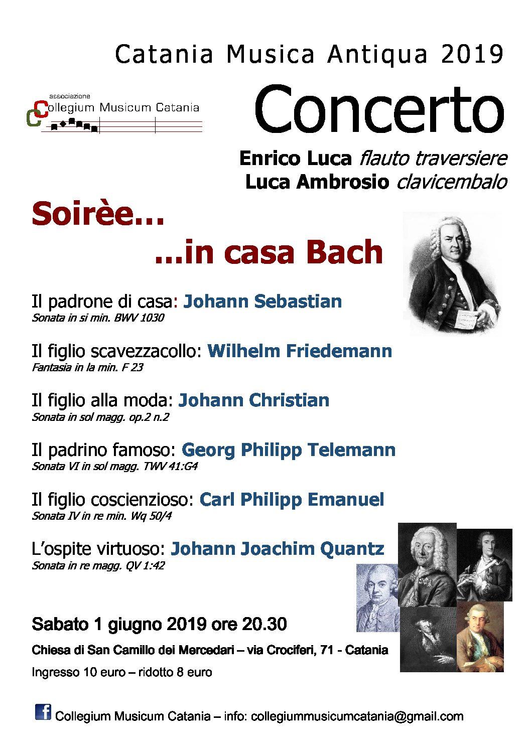 Sabato 1 giugno concerto nella chiesa di S. Camillo in via Crociferi