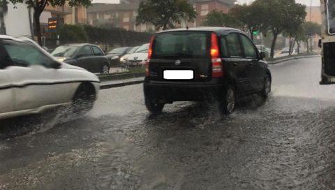 Catania vive una costante emergenza allagamenti