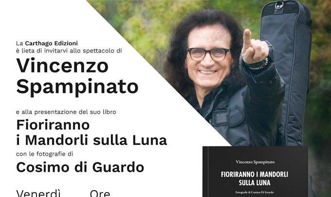 """Vincenzo Spampinato presenta il suo libro """"fioriranno i mandorli sulla luna"""""""