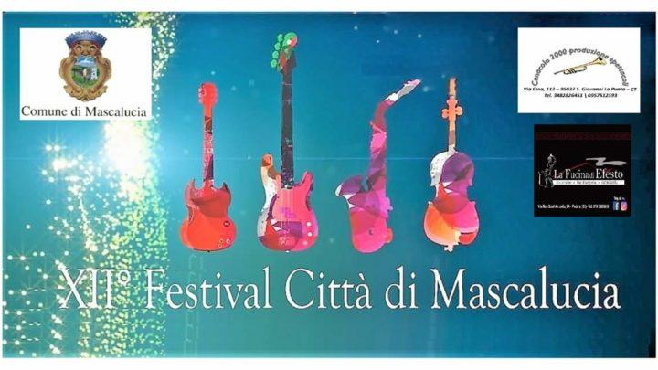 XII Festival canoro, Città di Mascalucia.