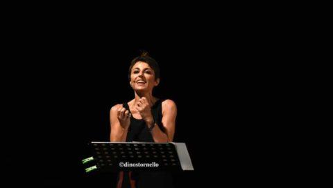 Manuela Ventura legge Petrarca ai Benedettini