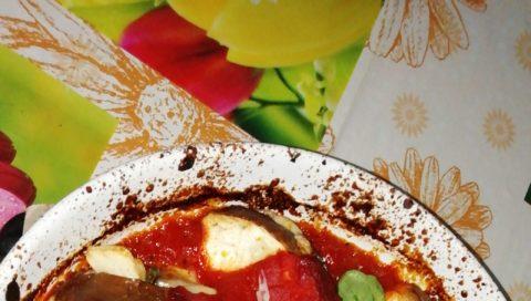 Ricetta di melanzane al forno: Spicchi di suli.