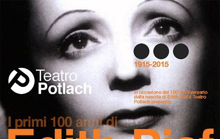 SERE D'ESTATE IN GIARDINO-I primi cento anni di Edith Piaf