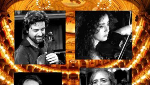 Quartetto d'Archi del Teatro Massimo Bellini: recital al Castello Ursino con Angelo Litrico