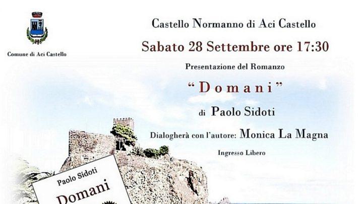 Aci Castello: incontro letterario sabato 28.