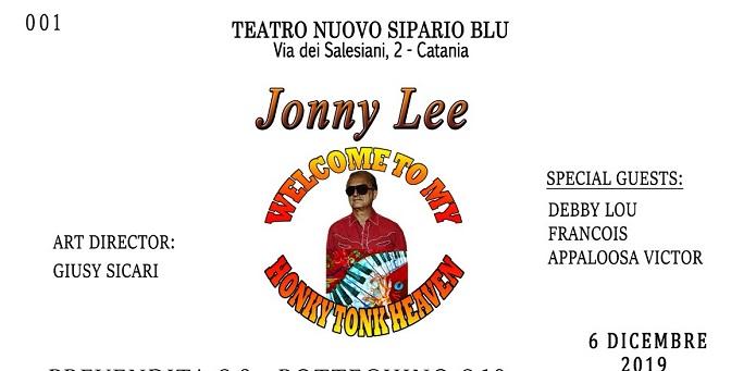 """Welcome to my honky tonk heaven"" al Nuovo Sipario Blu  di Catania"