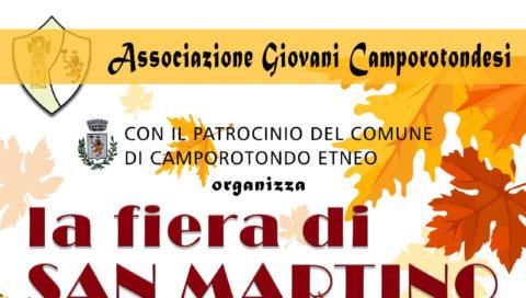 Camporotondo Etneo: fiera di S. Martino.