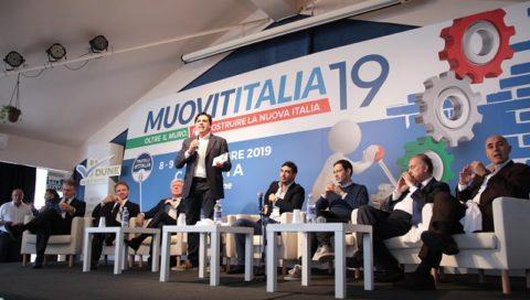"""MuovitItalia"""": nella terza e conclusiva giornata in primo piano il Centrodestra unito."""