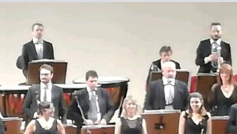 Concerto sinfonico al TMB con al flauto Giovanni Roselli e Salvatore Vella